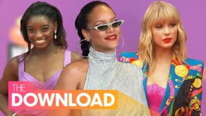 Simone Biles and Taylor Swift's Heartfelt Exchange, Rihanna is Officially a Billionaire