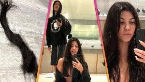 Kourtney Kardashian Goes Topless to Share Haircut by Boyfriend Travis Barker