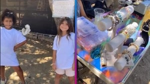North West and Penelope Disick Start a Lemonade and Jewelry Stand!