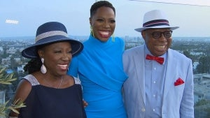 Yvonne Orji Brings Her Parents to the 'Vacation Friends' Premiere (Exclusive)
