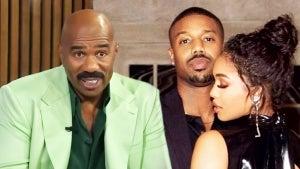 Steve Harvey Calls Daughter's Boyfriend Michael B. Jordan 'Genuinely a Good Guy' (Exclusive)