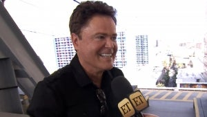 Donny Osmond Celebrates First Week of Solo Vegas Residency With Ziplining! (Exclusive)