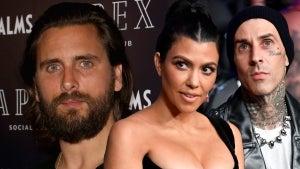 Scott Disick Has 'Ill Will' Towards Kourtney Kardashian and Travis Barker (Source)