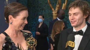 Evan Peters and Julianne Nicholson React to Their Emmy Wins (Exclusive)