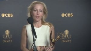Emmys 2021: 'The Crown's Gillian Anderson -- Full Backstage Interview