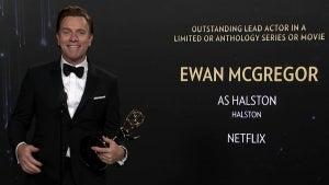 Emmys 2021: Ewan McGregor ('Halston') -- Full Backstage Interview