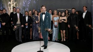 Emmys 2021: 'Ted Lasso' -- Full Backstage Interview