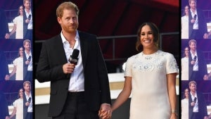 Prince Harry and Meghan Markle Hold Hands During First Public Appearance Together in Months