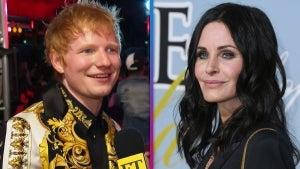 VMAs 2021: Ed Sheeran Reveals Courteney Cox Sings on His New Album! (Exclusive)