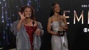 Emmys 2021: Debbie Allen Full Backstage Interview
