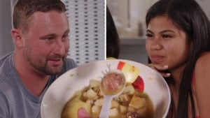 '90 Day Fiancé': Watch Evelin's Sisters Make Corey Eat Bull Penis Soup (Exclusive)