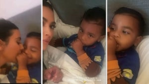 Watch Kim Kardashian's Son Psalm Totally Ignore Her!