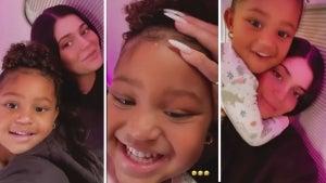 Watch Stormi Webster's Impression of Mom Kylie Jenner
