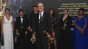 Emmys 2021: John Oliver (Last Week Tonight) -- Full Backstage Interview