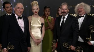Emmys 2021: 'The Queen's Gambit' Full Backstage Interview