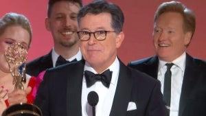 Emmys 2021: Conan O'Brien Crashes Stephen Colbert's Emmy Speech