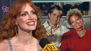 Jessica Chastain Shares Initial Reaction to Her Tammy Faye Transformation (Exclusive)