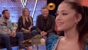Watch Ariana Grande's Fellow 'Voice' Coaches Gush Over Her Talent