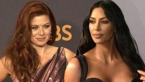 Debra Messing Questions Why Kim Kardashian Is Hosting 'Saturday Night Live'