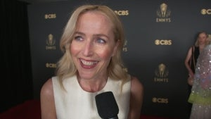 Gillian Anderson Talks 'The Crown' Before Winning a 2021 Emmy! (Exclusive)