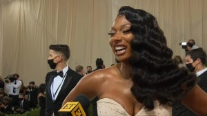 Met Gala 2021: Megan Thee Stallion Jokes She's 'Been in Glam Since Yesterday' (Exclusive)