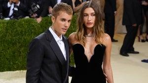 Justin and Hailey Bieber Celebrate Their Third Wedding Anniversary at Met Gala 2021
