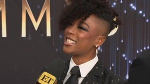 Samira Wiley Makes Emmys 2021 a Date Night and Talks 'The Handmaid's Tale' (Exclusive)