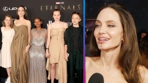 Angelina Jolie's Kids Wear Her 'Upcycled' Red Carpet Looks to 'Eternals' Premiere (Exclusive)
