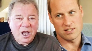 William Shatner Reacts to Prince William's Disapproval of Space Race (Exclusive)