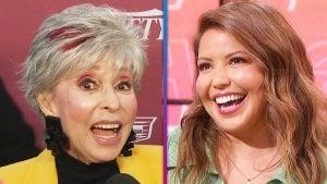 Justina Machado Reacts to Surprise Message From TV Mom Rita Moreno (Exclusive)