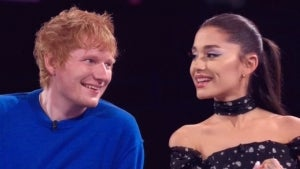 'The Voice': Ariana Grande and Ed Sheeran Catch Up About Married Life and Kids!