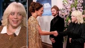 Billie Eilish Broke Protocol While Meeting Royals