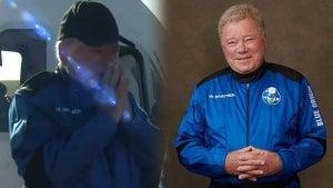 William Shatner Gets Emotional After Blue Origin Space Flight