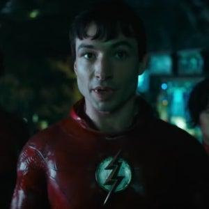 The Flash Movie Teaser Trailer Ezra Miller Sasha Calle