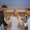 Joel McHale, Kaley Cuoco, James Corden