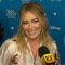 Hilary Duff interview at D23