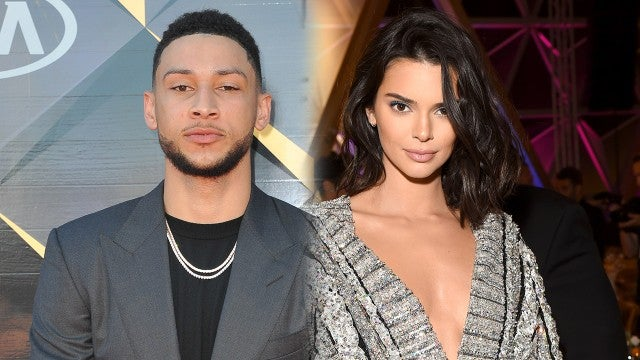 Kendall Jenner Cozies Up to Rumored Boyfriend Ben Simmons at Khloe Kardashian's Party