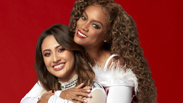 Francia Raisa and Tyra Banks star in 'Life Size 2: A Christmas Eve.'