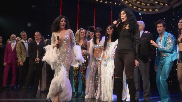 Watch Cher Surprise 'The Cher Show' Opening Night Audience With Curtain Call Performance!