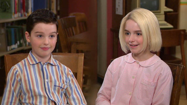 'Young Sheldon': Watch Iain Armitage and Mckenna Grace Interview Each Other! (Exclusive)