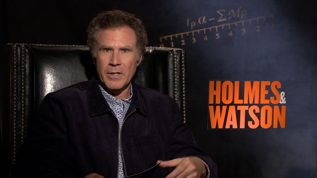 'Holmes & Watson': Watch Will Ferrell and John C. Reilly Hilariously Interview Each Other (Exclusive)