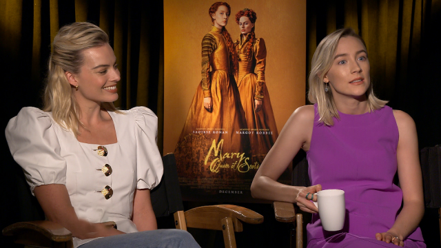 Margot Robbie Spills Secrets Behind the 'Mary Queen of Scots' Costumes (Exclusive)