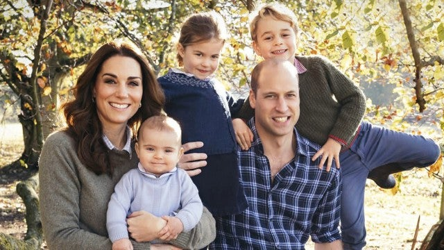 Prince William and Kate Middleton Are Country Casual in Annual Family Christmas Card