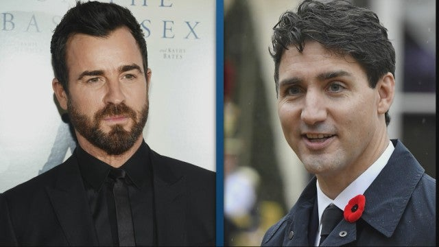 Justin Theroux Keeps Getting Confused For Canadian Prime Minister Justin Trudeau