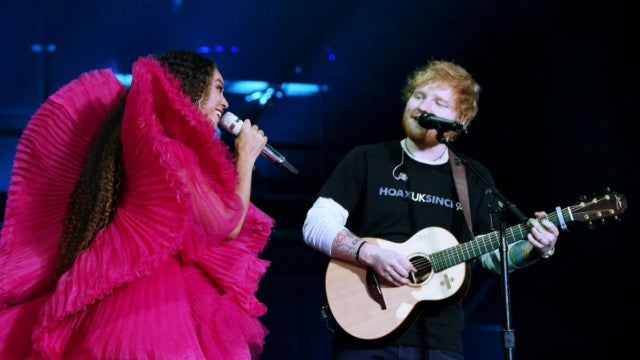 Beyonce and Ed Sheeran Are a Perfectly Mismatched Duo