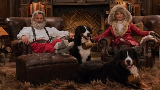 Goldie Hawn and Kurt Russell Make the Sexist Santa and Mrs. Claus Ever!