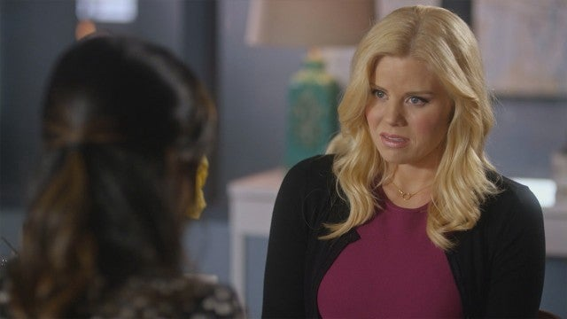 Megan Hilty Gets Roped Into Playing an Elf in Lifetime's 'Santa's Boots' Sneak Peek (Exclusive)