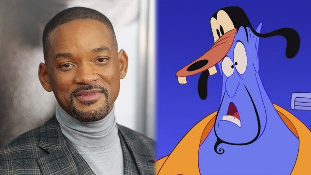 'Aladdin': First Look at Will Smith as Genie With Rare Robin Williams' Footage