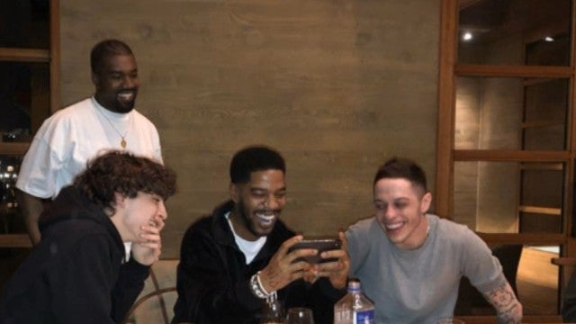 Pete Davidson Hangs with Kanye West After Once Criticizing His 'SNL' Performance