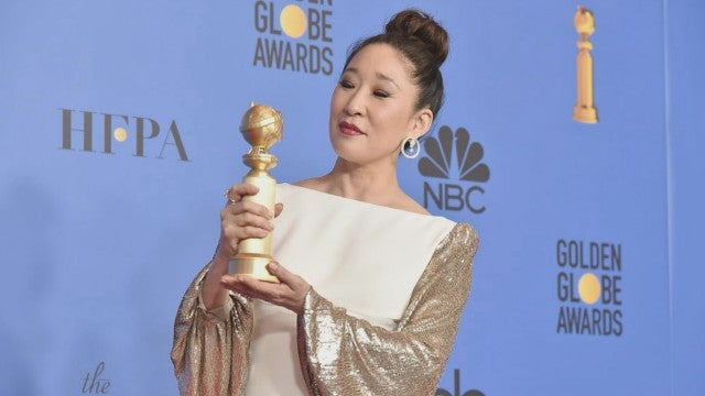 Sandra Oh's 'Grey's Anatomy' Co-Stars React to Her Historic Golden Globes Win